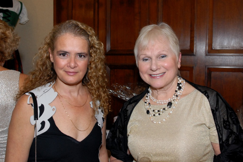 Guest of Honor Julie Payette with Ball President Elizabeth Wirth